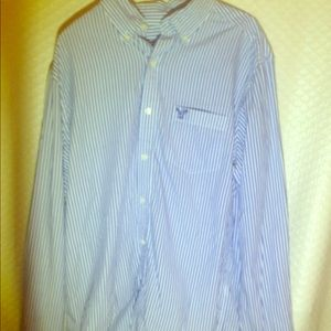 American Eagle button down top sz M